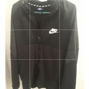 Black Nike Zip-Up Sweater